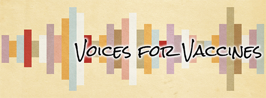 Voices for Vaccines banner