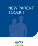 Cover page of the New Parent Toolkit